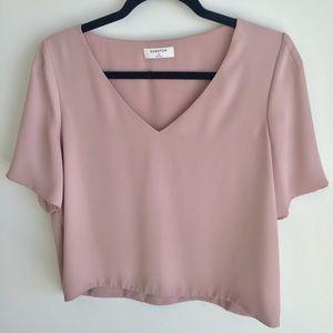 Aritzia Babaton Pink Top | T-Shirt